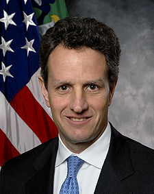 Secretary of the Treasury Timothy Geithner