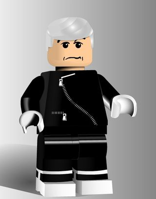 Old guy lego