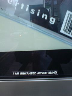 Metropole: I am Unwanted Advertising - by Editor_Tupp