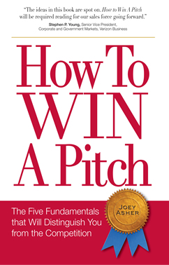 How to Win a Pitch by Joey Asher