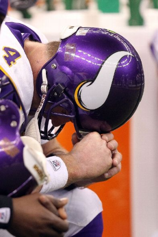Brett Farve of the Vikings - Photo by Ronald Martinez/Getty Images